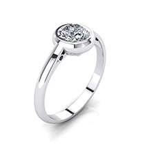 Art-Deco Engagement Ring