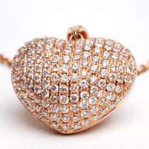 Rosé Heart Necklace