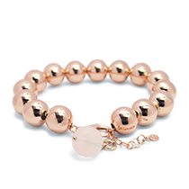 Bead globe bracelet