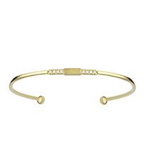 Sand Storm Yellow Cuff Bracelet