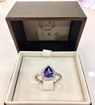 Tanzanite Engagement ring