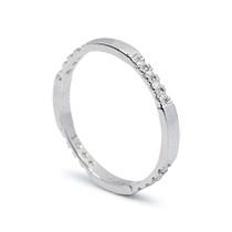Sand Storm White Ring