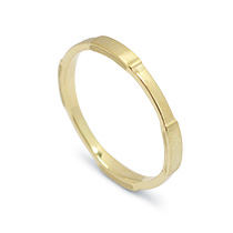 Sand Storm Gold Ring